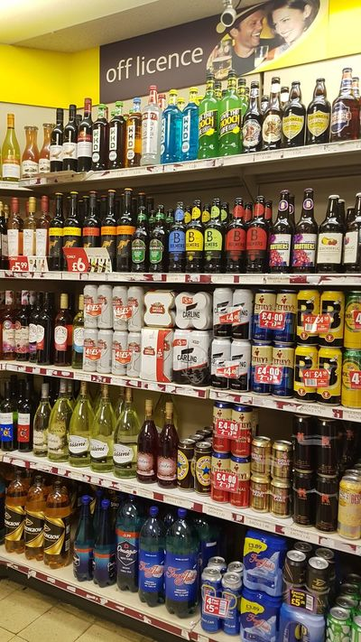 Shelf For Sale Store Choice Variation Large Group Of Objects Abundance Retail  Drink Indoors  Consumerism No People Multi Colored Business Day Food Supermarket Off Licence