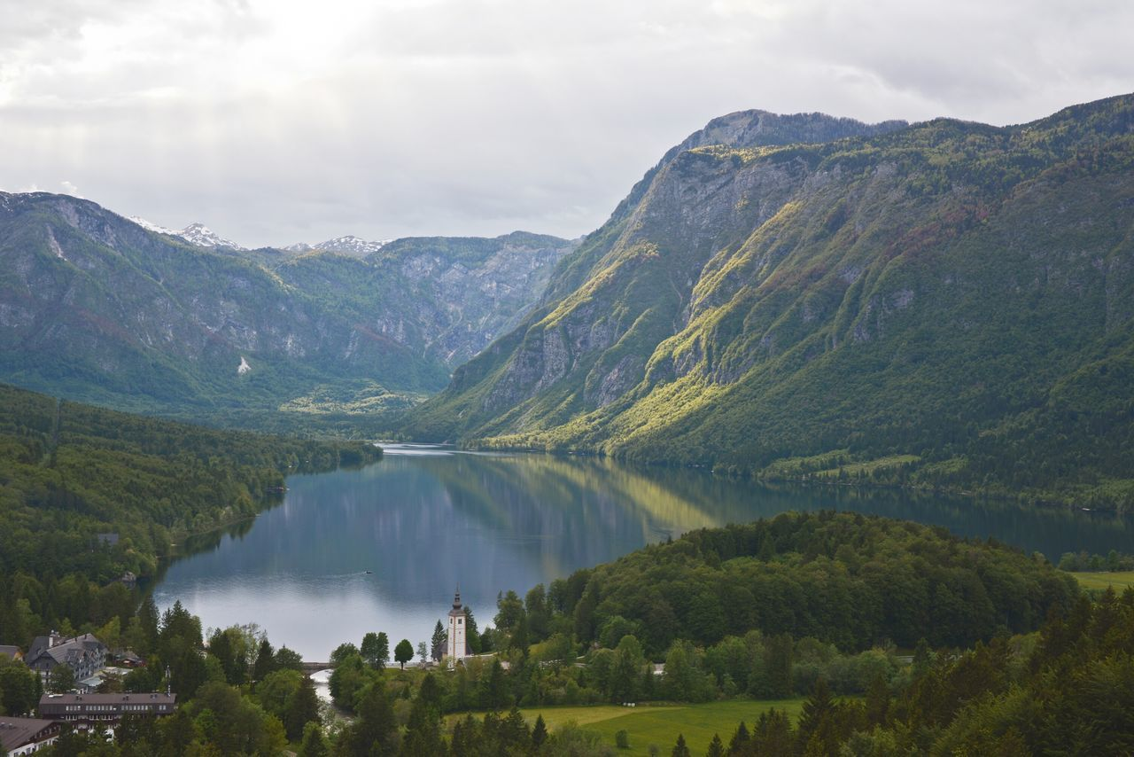 That view reminds me on romantic oil paintings from National galleries. :DLake Bohinj Bohinjsko Jezero Bohinj Slovenia The Great Outdoors - 2016 EyeEm Awards Panorama Nature's Diversities EyeEm Best Shots Green Color Popular Idilic The Essence Of Summer Forrest Lake Glacier Lake Our Best Pics Tranquil Scene Beautiful My Year My View Always Be Cozy Miles Away Flying High