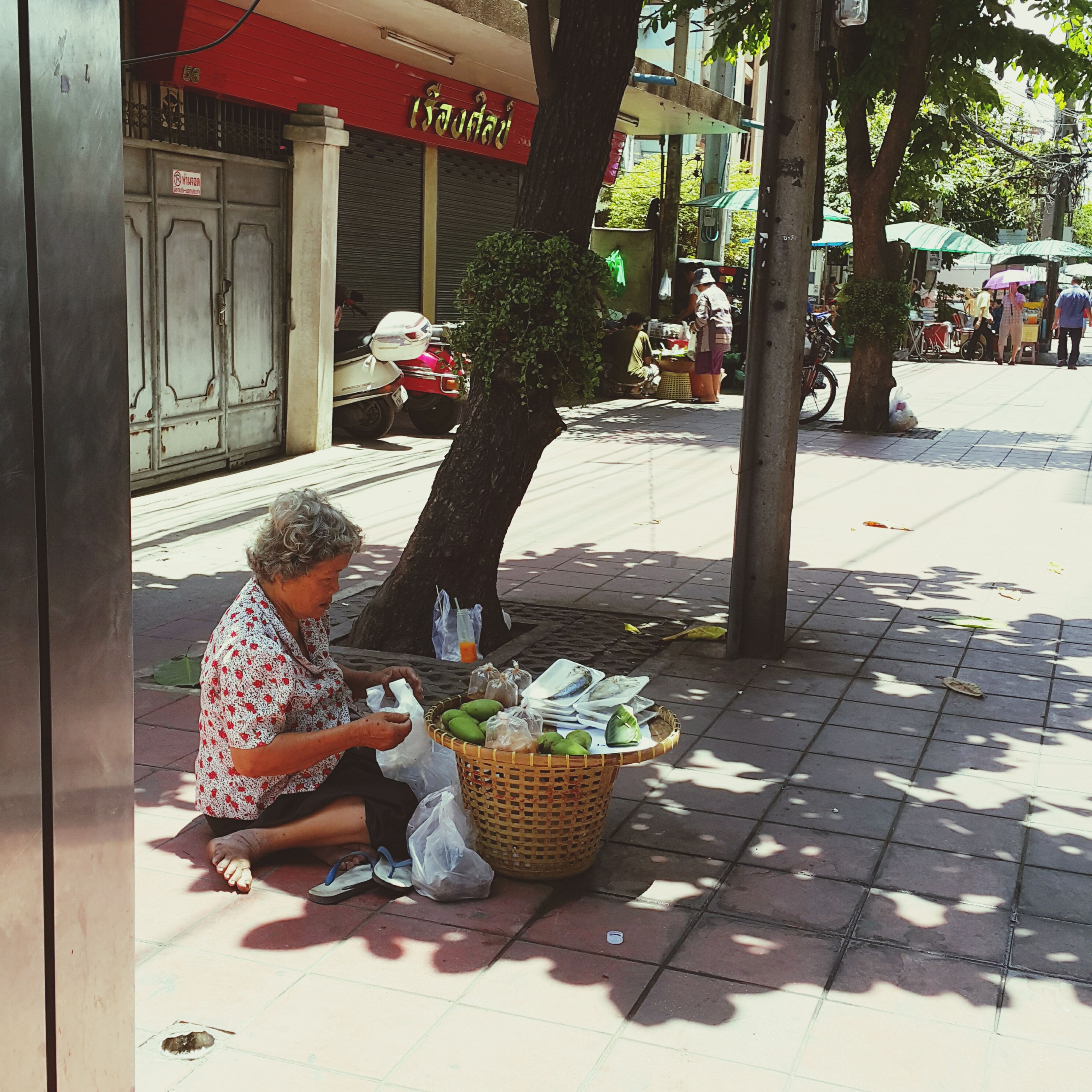 Granny is happy Granny is happy Everything at once Granny & her shop my thirdworld style street life bangkokian