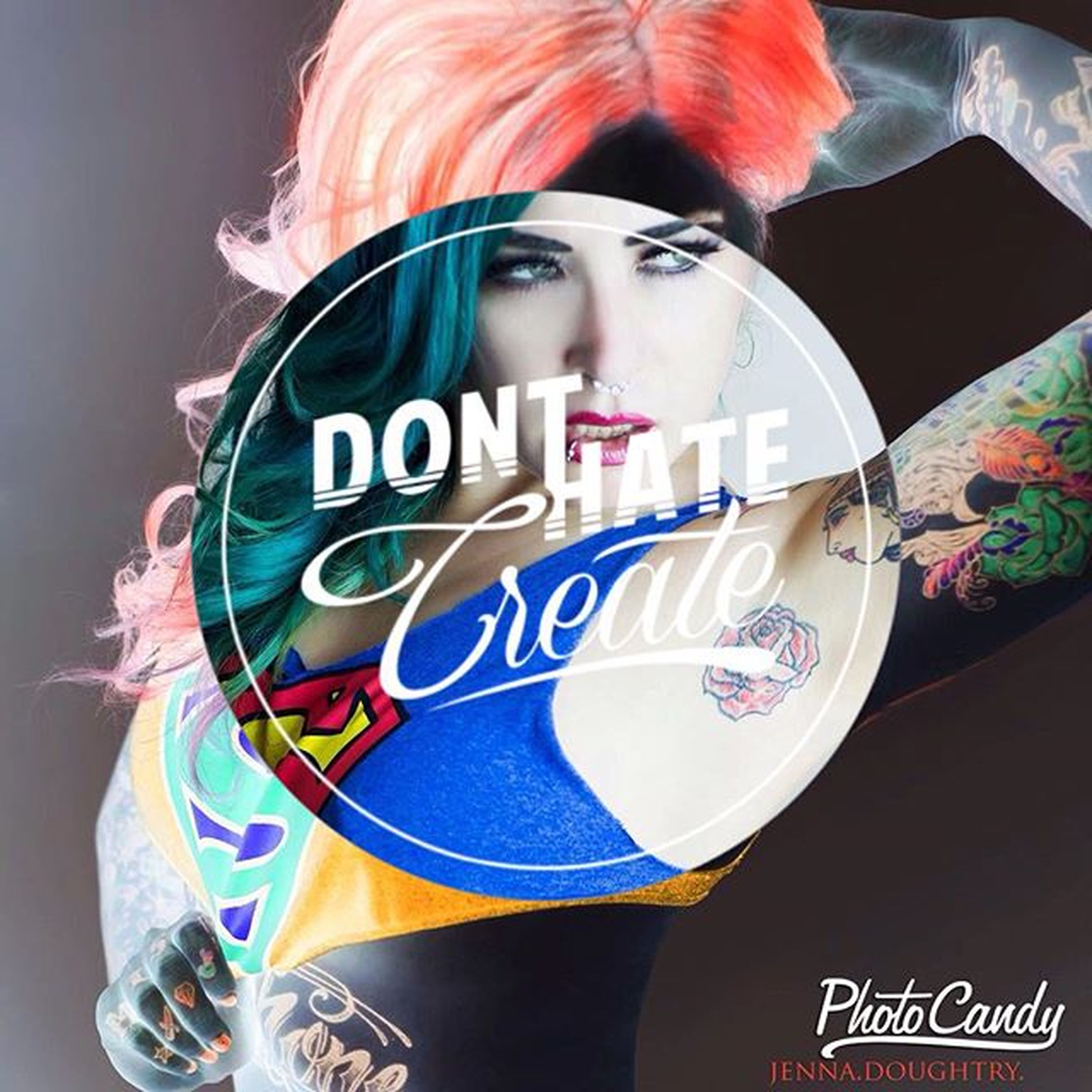 Myeditgivecredit Newedit JennaDoughtry JennaDoughtryPhotography Tattedmodels Tattoos Womanwithtattoos Altmodels Mischief