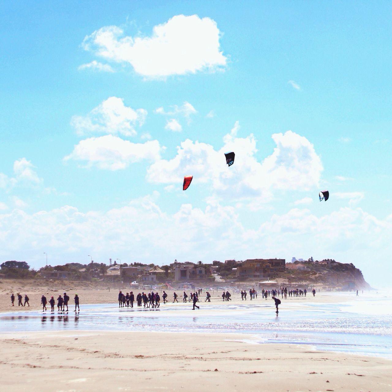 Beautiful stock photos of sunny, Beach, Cloud, Day, Enjoying