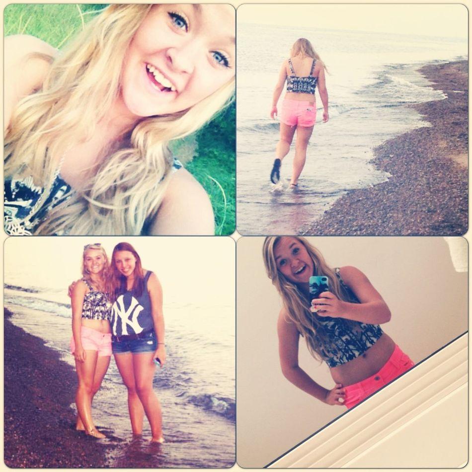 Summertime Selfie Beach Follow Me