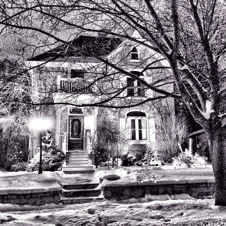 Houses I Love: Winter night series Oldhouse House Houses I Love