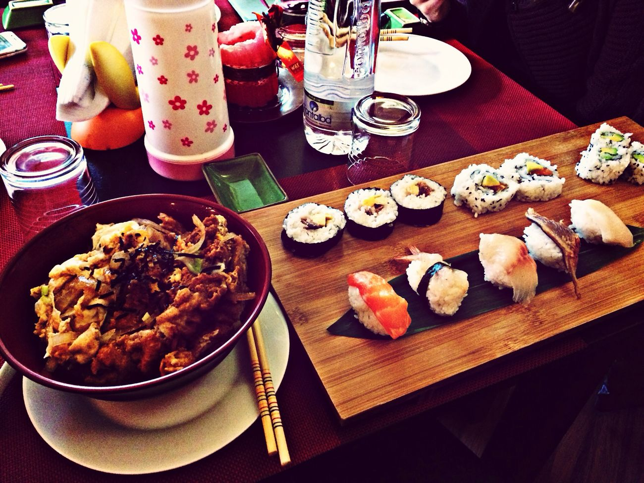 Sushi lunch Sushi Food Japan Eating