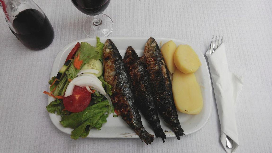 Portugal Lisbon Lisboa Foodporn Foods Food On The Go Food And Drink Food Photography Food Porn Food Sardines On Carvon Sardine Fish Sardines Sardinhas Sardinha