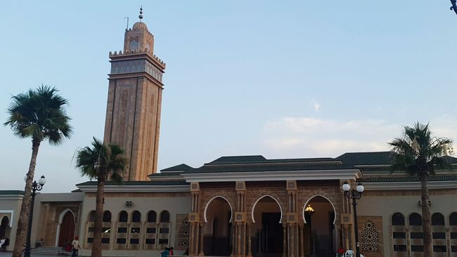 Oujda City, Morocco Low Angle View Building Exterior Architecture Built Structure Tall - High Mosque Architecture