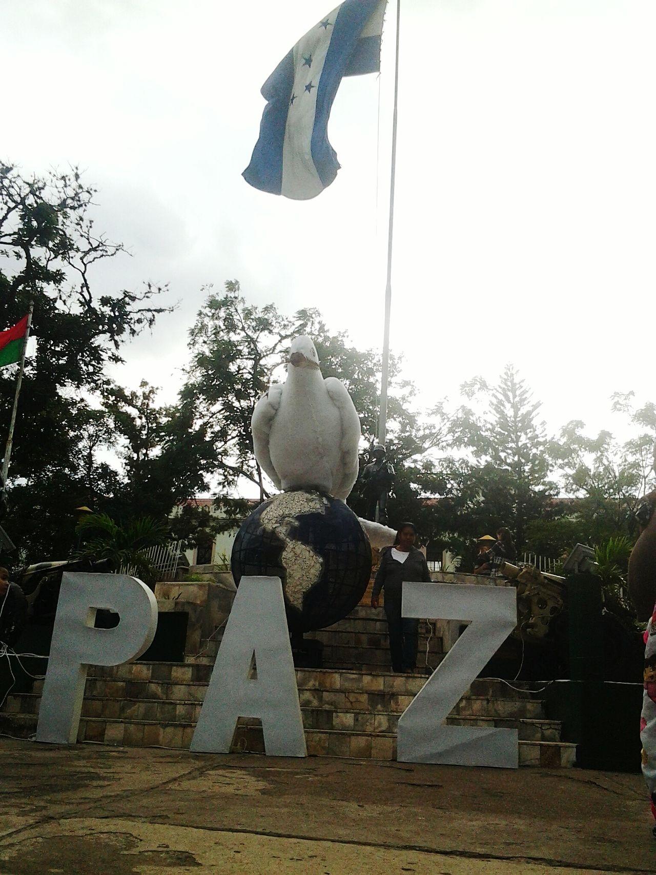Honduras Xmas Peace Paz Eatr