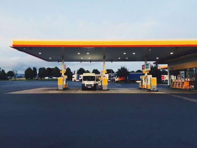 Tankstelle Autobahn