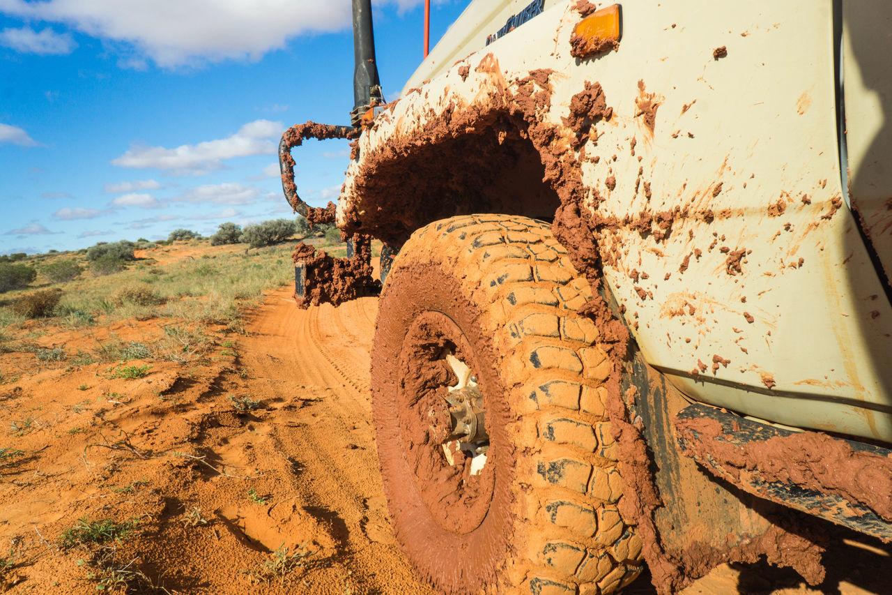 Australia Day Desert Mud Off Road Off-road Vehicle Outdoors Sand Simpsons Sky Tire Transportation Wheel
