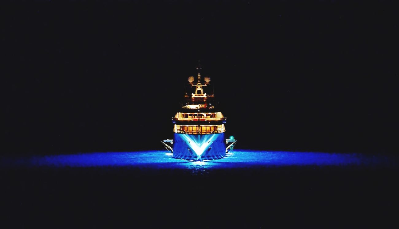 night light Eye4photography  Ship night light Sea