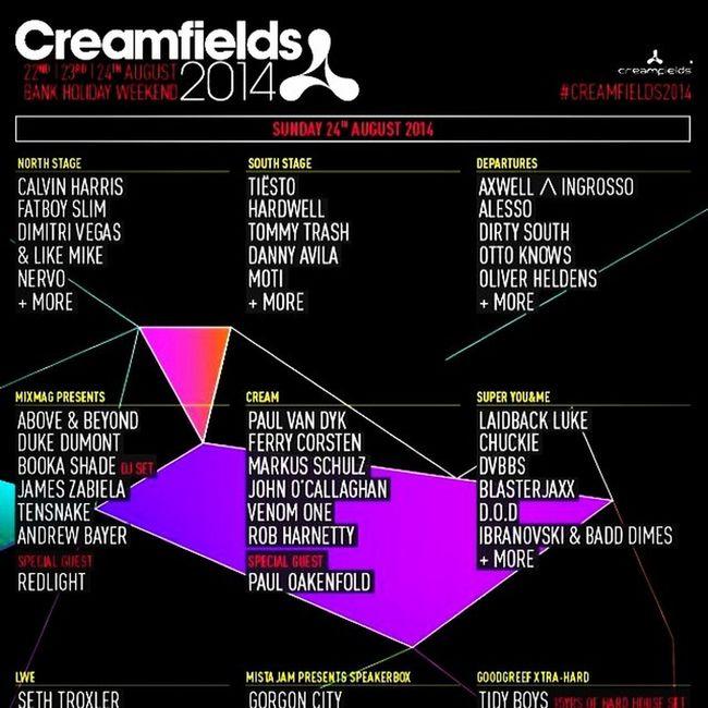 Nae bad Excited Wheresummerat Creamfields