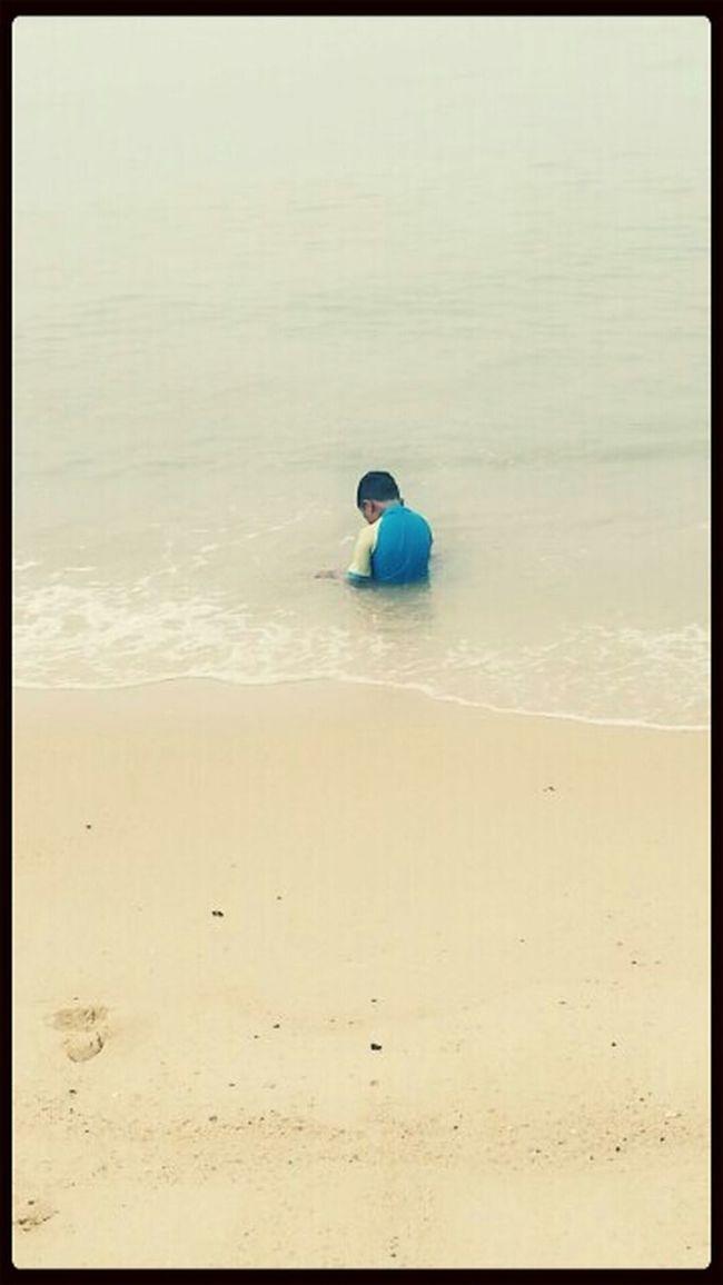 Sweet Brother Having Fun Alone