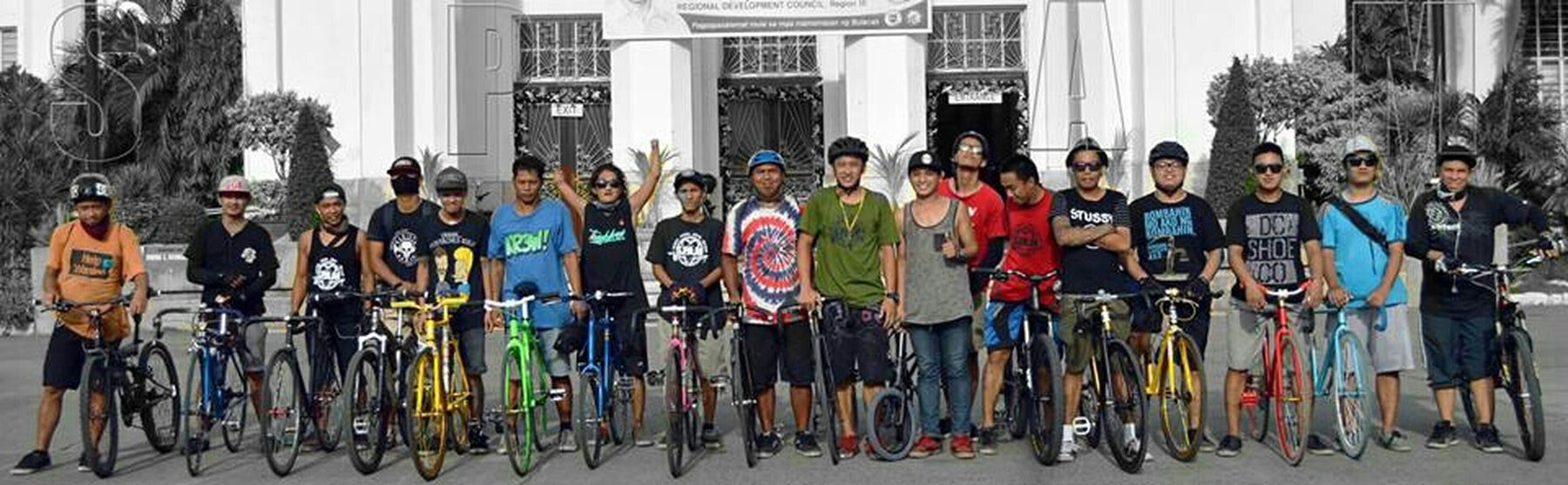 Fixedgear Fixedlife Nobreaks SpamRepresent. GobangPadjakAll. MTB Roadbike Foldingbike Family Philippineriders