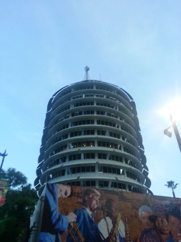Downtown Los Angeles Good Morning Capitol Records Architecture