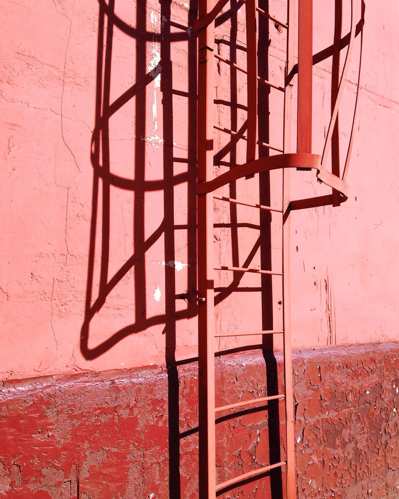 Color pink Pink Pink Color Architecture Metal Built Structure No People Shadow Day Close-up Copy Space Minimalism Minimal