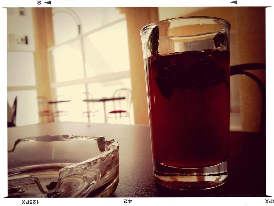 The reward of a less creepy Monday. Tea Lunch Break Monday Mint