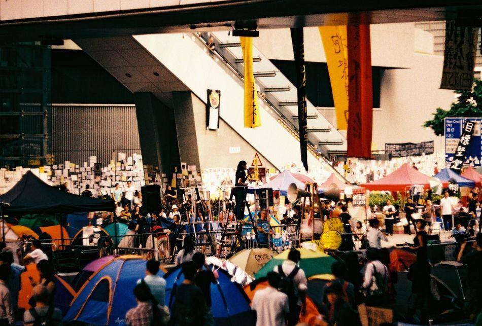 Democracy Hope From The Umbrella Revolution Umbrella Revolution The Street Photographer - 2015 EyeEm Awards