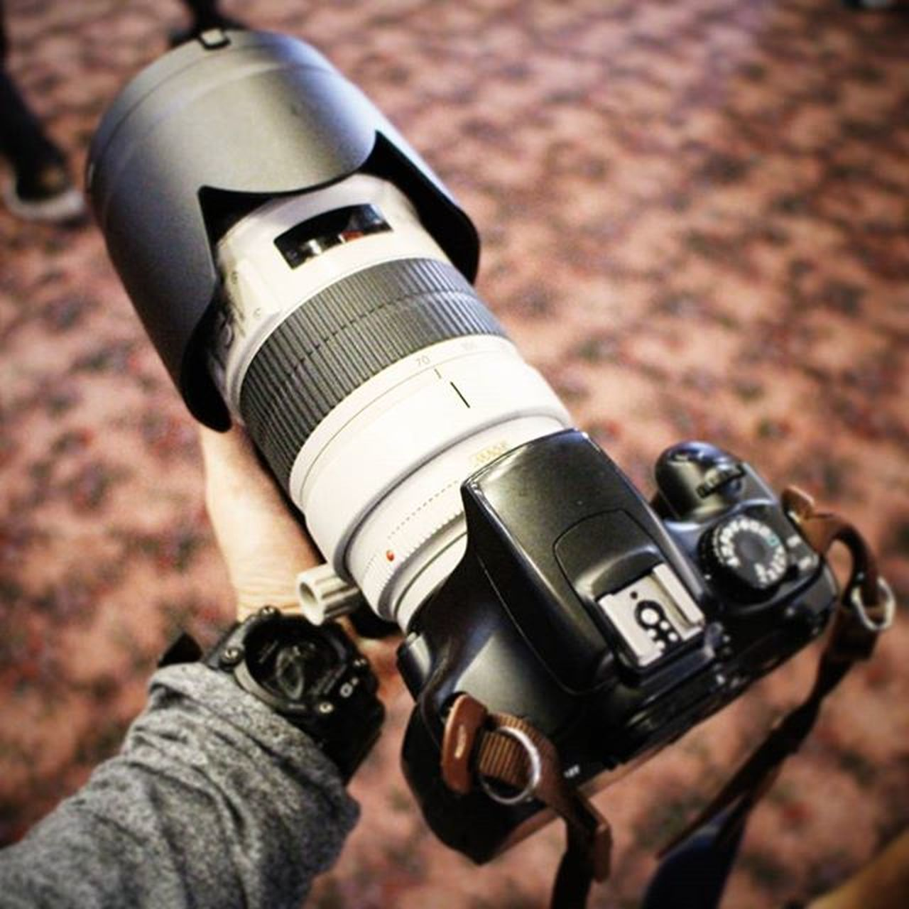 Thanks @imjulius for letting me Chagi your lens EF70200 Recon2015 OtakuRecon Thevault TheVaultMedia