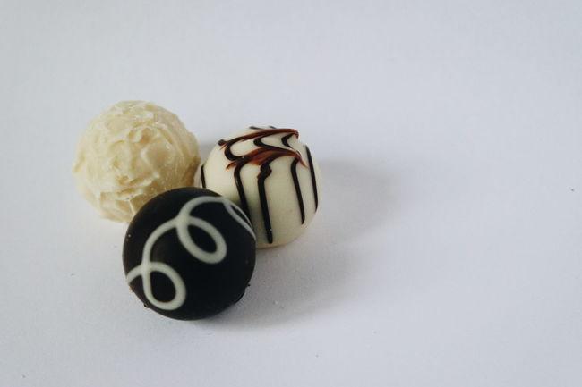 Freshness Close-up Chocolate Sweetness Freshness Food White Background Studio Shot No People Horizontal Symmetry