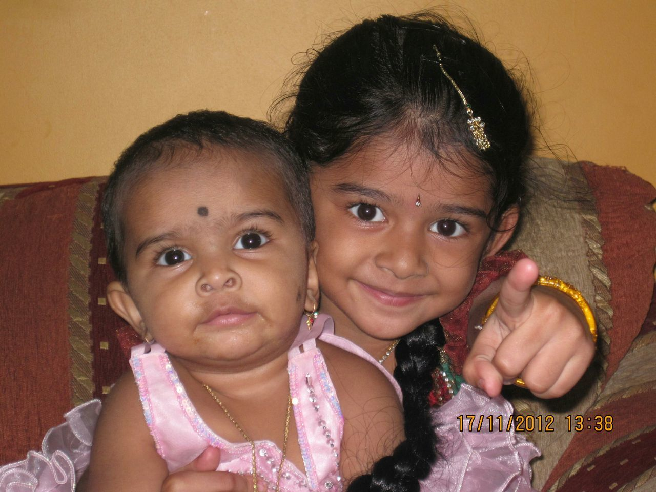 Sweetest ever Kamalika & Anika