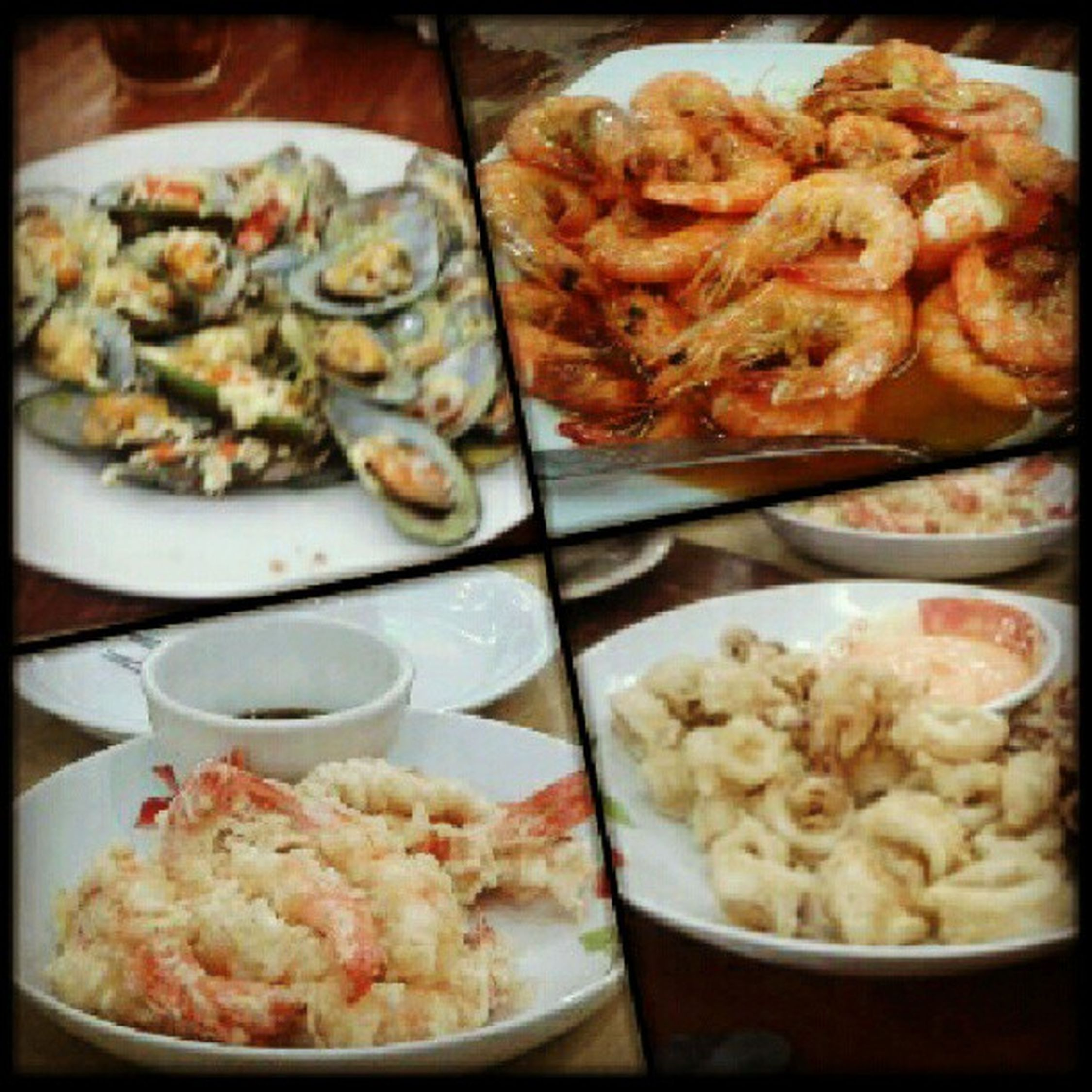Ohh favorite :) Lateupload Bakedtahong Cheese Garlic calamares tempura buttered shrimp favorite seafood yummy food instafood foodtography foodstagram igersmanila