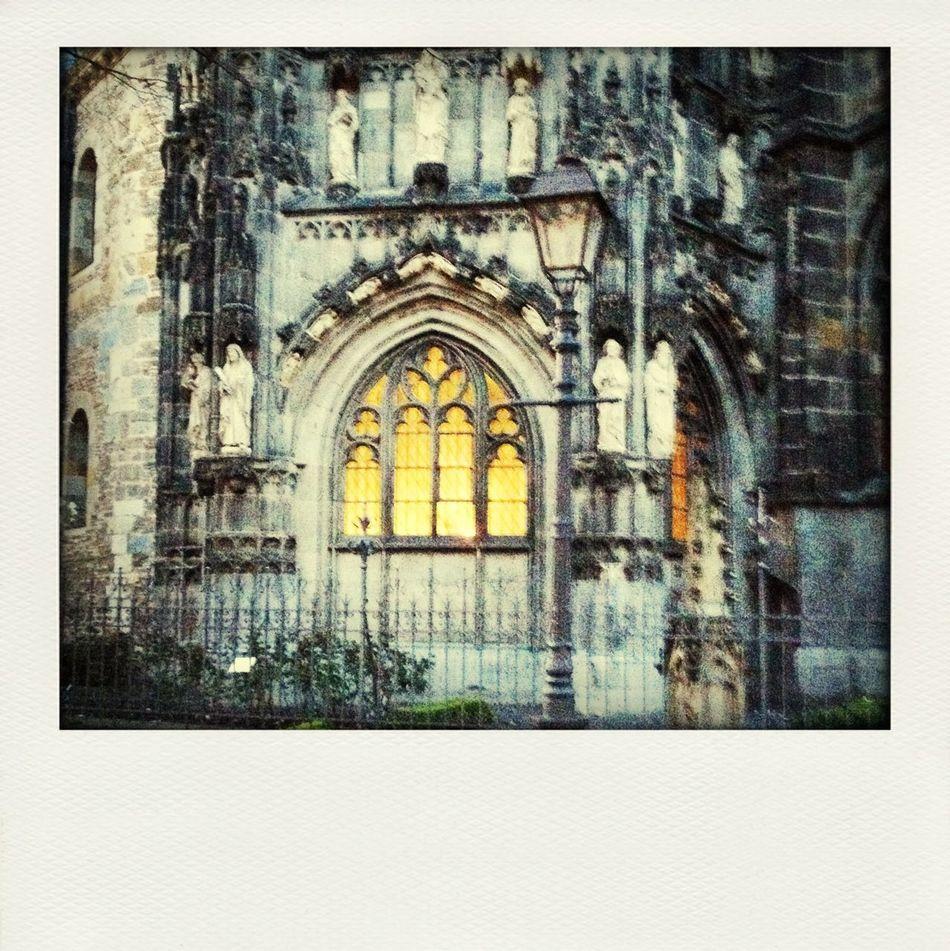 Aachener Dom Fenster Laterne