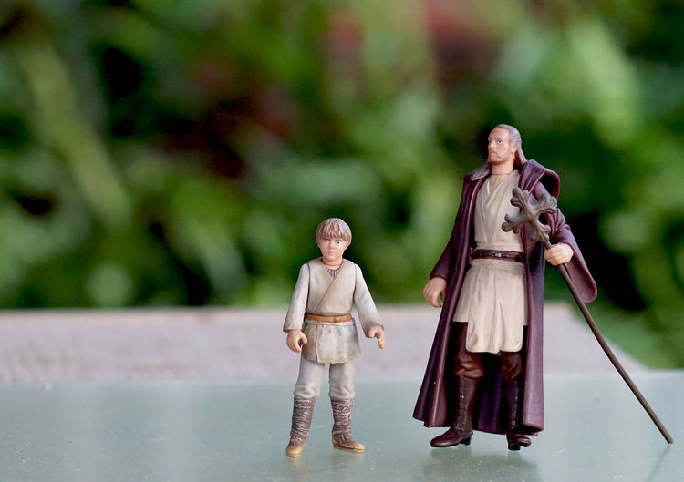 Star Wars toy figures Close Up Figures Foreground Focus Outdoors Plastic Toys Star Wars Toy Figure Toy Figures Toy Photography Toys