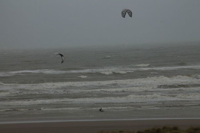 Adventure Beach Beauty In Nature Day Extreme Sports Holland Kiteboarding Kitesurfing Leisure Activity Nature Netherlands Outdoors Parachute Paragliding Real People Sand Scenics Sea Silhouette Sky Sport Surfing Water Wave Wijk Aan Zee