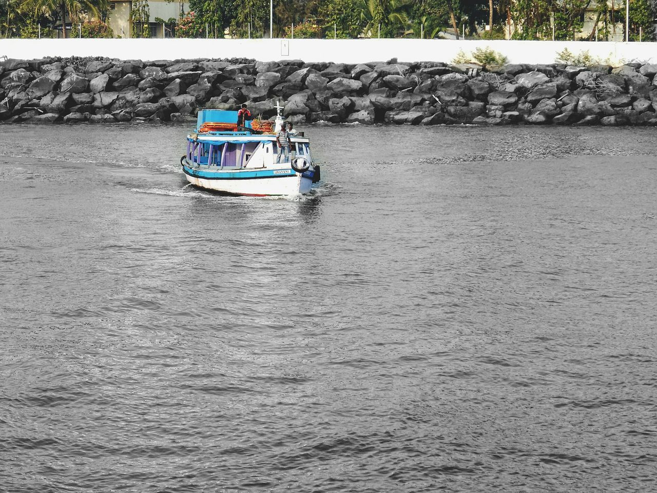 Nautical Vessel Transportation Mode Of Transport Day Outdoors Water Nature No People AWESOME!!  People Beach Sea Awesome Day Awesome_shots Scenics City Motion Personal Perspective Transportation Men GIMP Photo Editor Edited My Way AWESOME!!