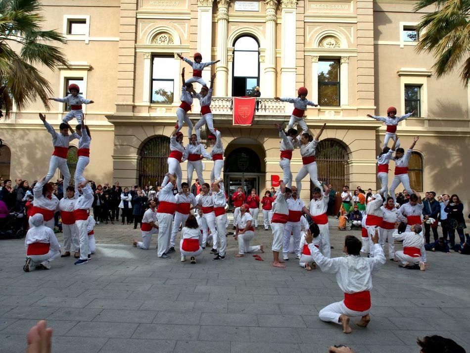 Adult Aixenprovence Barcelona♡♥♡♥♡ Castellers Catalunya Day Festes Festes I Tradicions Outdoors People