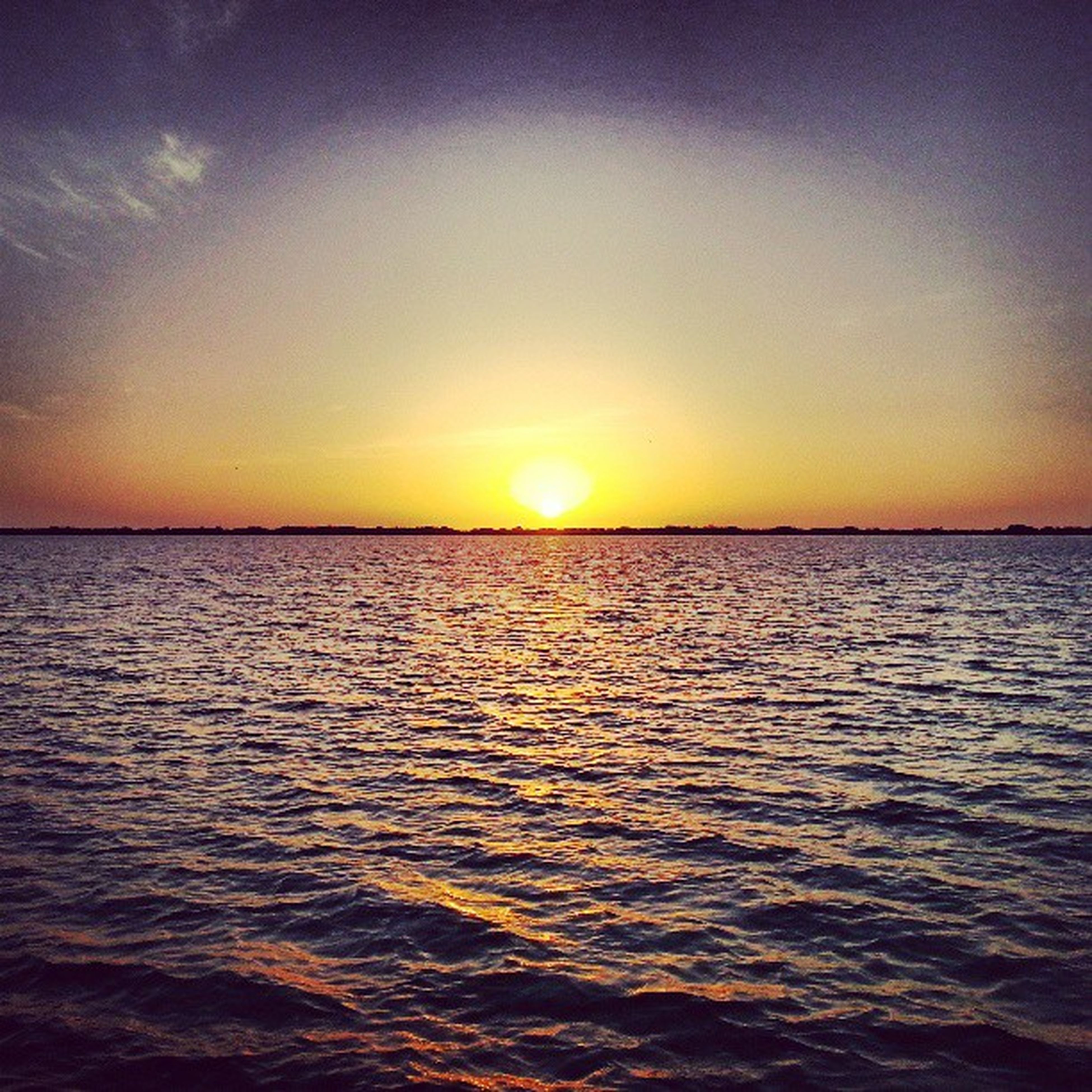 sunset, water, sea, sun, scenics, tranquil scene, beauty in nature, tranquility, waterfront, orange color, rippled, sky, idyllic, horizon over water, reflection, nature, sunlight, outdoors, seascape, no people