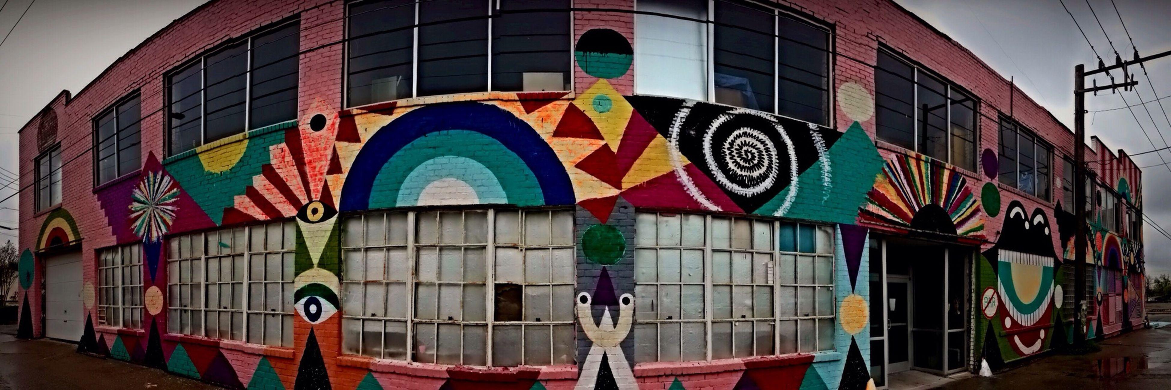 Pano graffiti EyeEm Best Shots Graffiti Street Art/Graffiti Taking Photos
