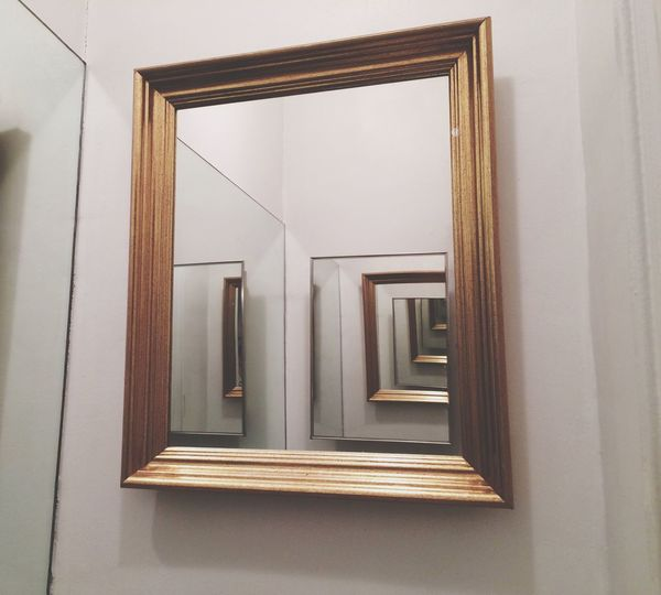 Mirrors mirrors mirrors Check This Out Mirror Multiple Layers White Background Frame Illusion Reflection Fine Art Photography
