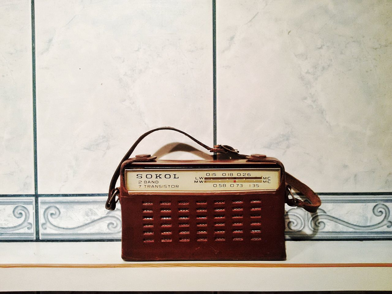 Retro Styled TakeoverMusic Music Analog Antique Old Old-fashioned Radio SOKOL