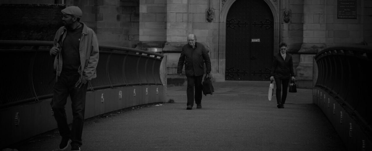 Walking Real People Men City Outdoors Night Architecture People Adults Only Adult Blackandwhite Black And White Black & White Blackandwhite Photography Black And White Photography Black&white