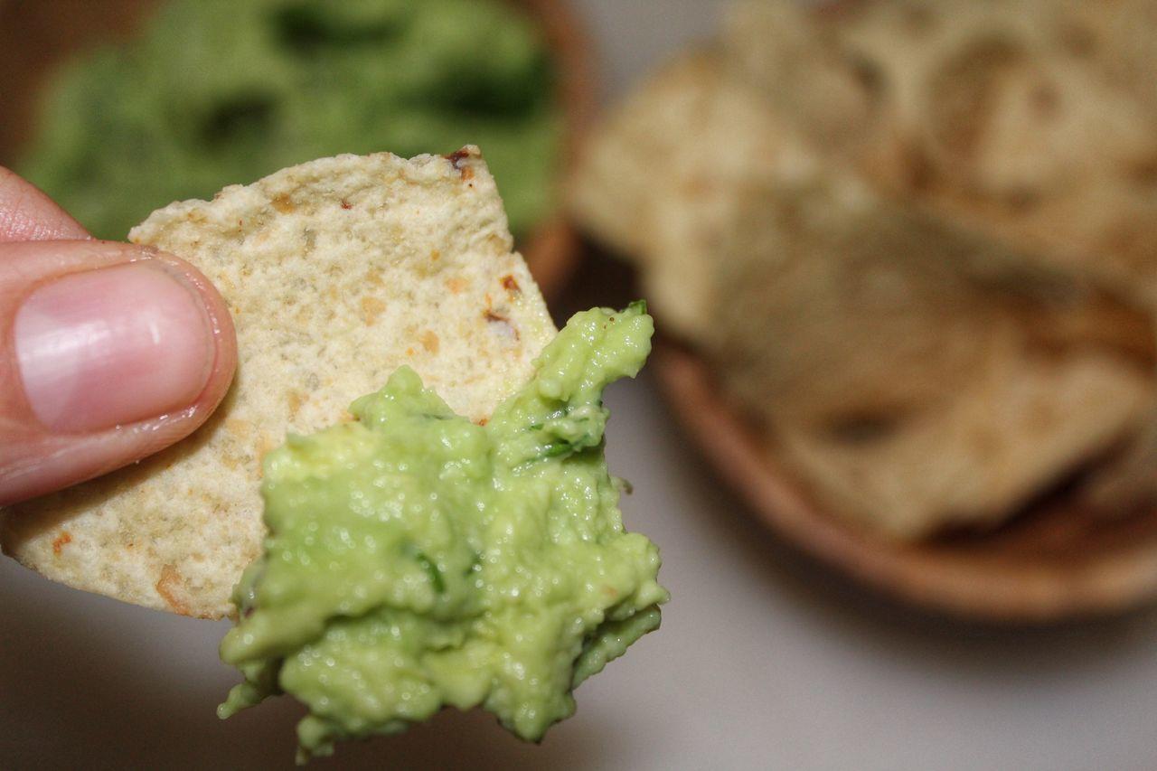 Guacamole Guacamole Avocado DIP Mexican Food Tortilla Chips Dipping