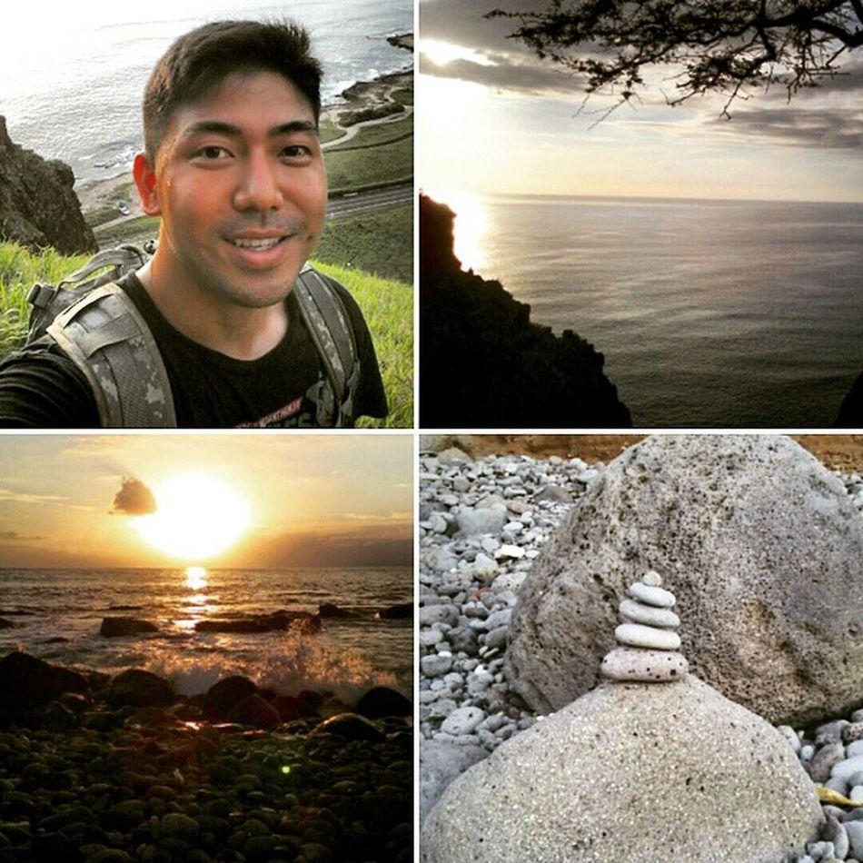 Today's adventure in waianae. Uppermakuacave Zen Hikingadventure HiLife Sunset Epichi Venturehawaii Fitlife Latepost