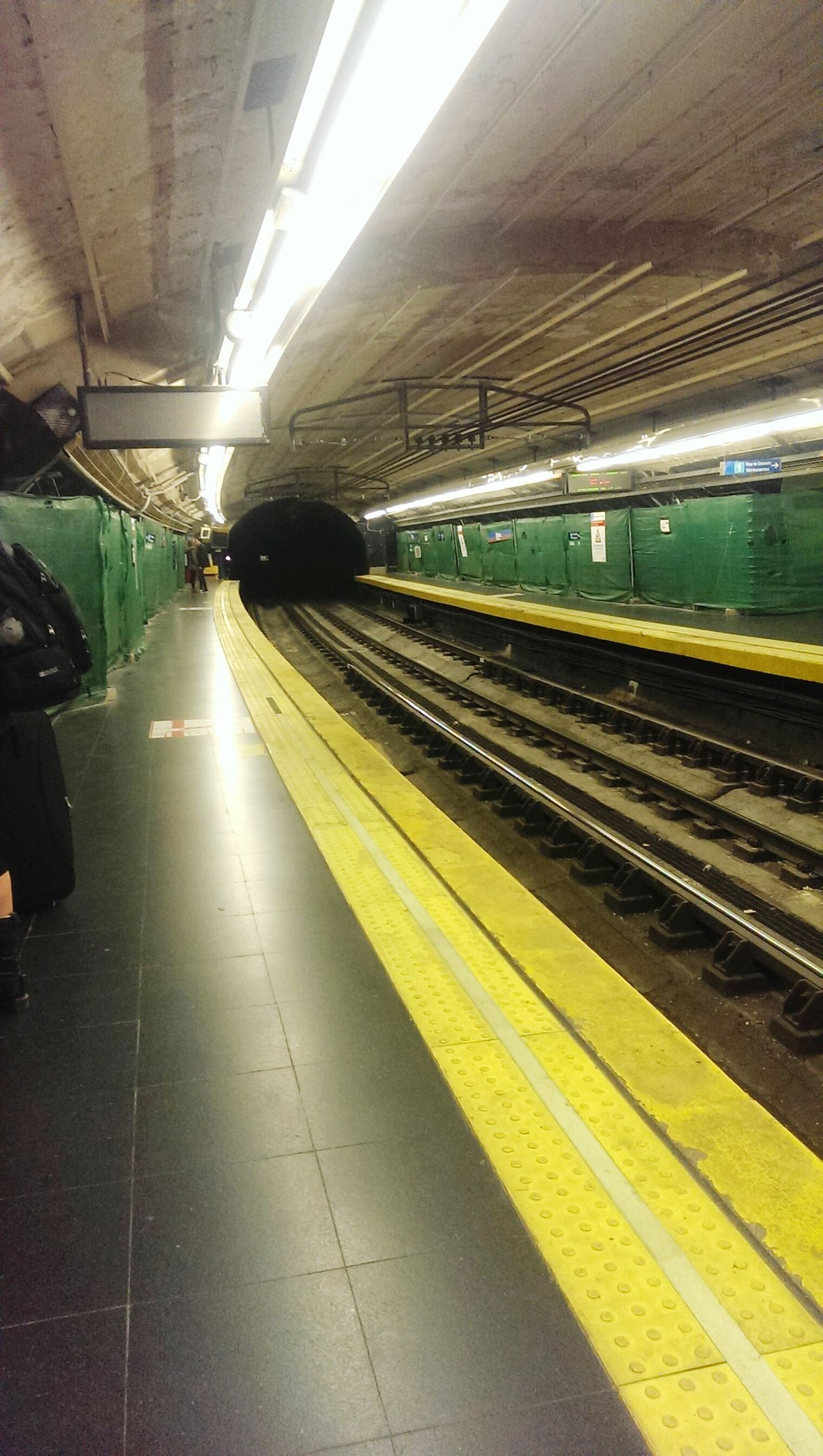 Public Transportation Subway Taking Photos Tetric Notes From The Underground