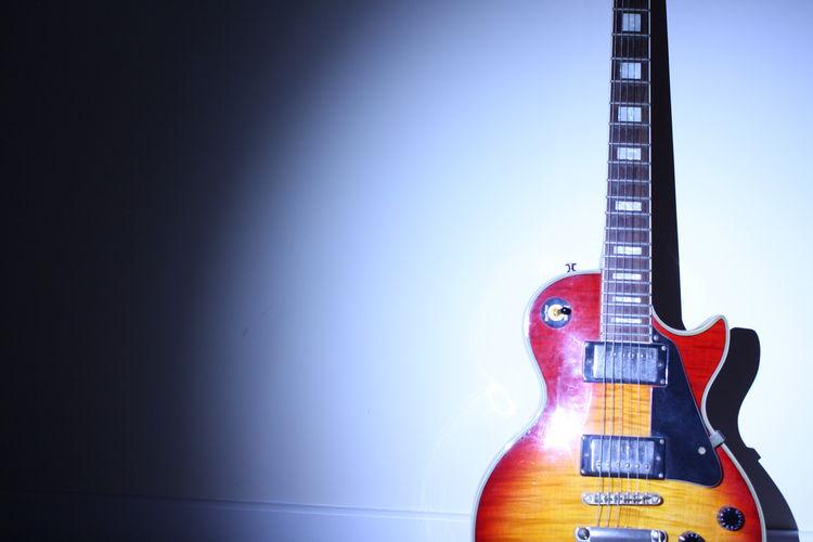 Gibson Les Paul Guitar Light Light And Shadow Spotlight