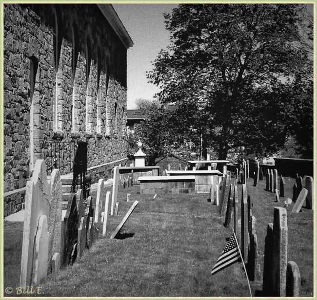 Blackandwhite Bw_collection Landscape_Collection Church Graveyard...