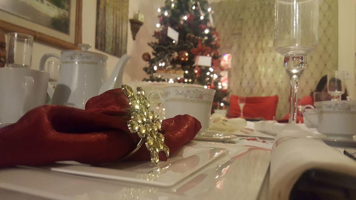 Tb To Christman Tree Beauty Illuminated Christmas Decoration Elégance Table Celebration Christmas Lights
