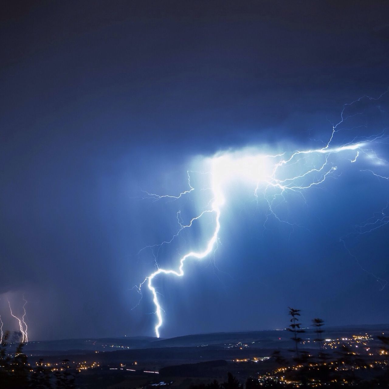 WeatherPro: Your Perfect Weather Shot, Lightning and Thunderstorm at Gammelshausen EyeEm Bestsellers
