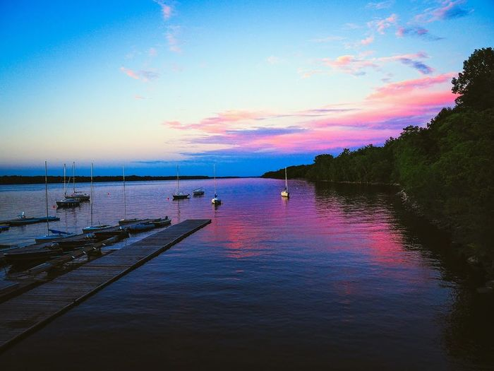 Water Sunset Reflection Scenics Sky Sea Multi Colored Outdoors Landscape Travel Destinations Beauty Vacations Nature Tranquility Beauty In Nature Tranquil Scene Summer Beach Cloud - Sky Nautical Vessel Dramatic Sky Ottawa