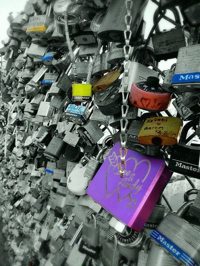 Locksoflove Fences Of Love Portland Maine Maine Oldport Locks Love Bnw Color Splash Newengland