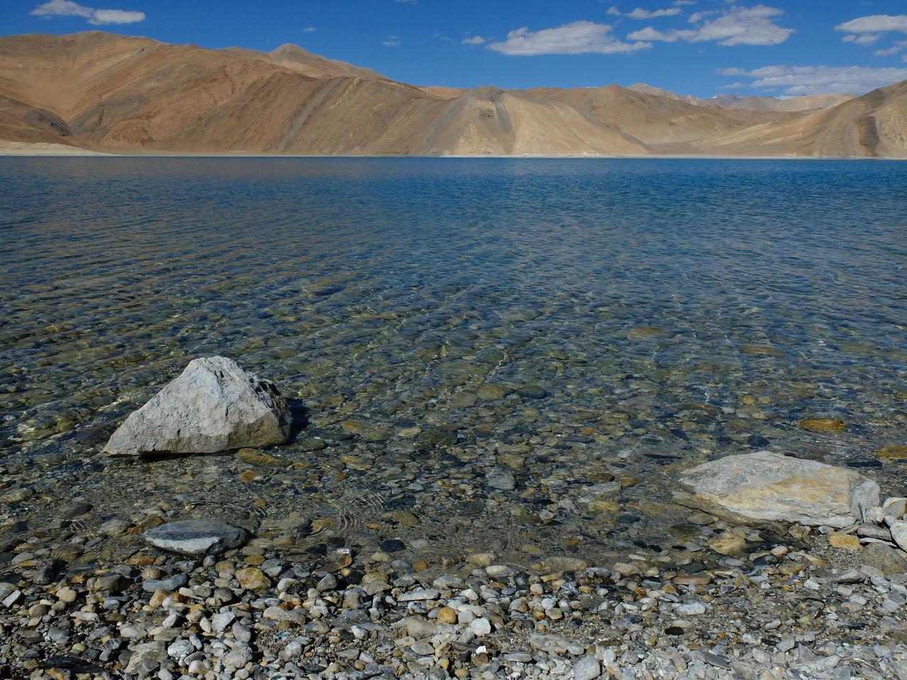 Day Extreme Terrain Jammu And Kashmir Landscape Leh Ladakh Mountain Nature No People Outdoors Pangong Lake Pangong Tso PangongTso The Natural World Wilderness
