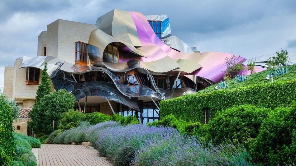 Bodega Marques de Riscal. The Architect - 2016 EyeEm Awards Bodega Architecture Modern Architecture Hotel Winery Marques De Riscal Wine Travel Photography Rioja SPAIN Frank Gehry