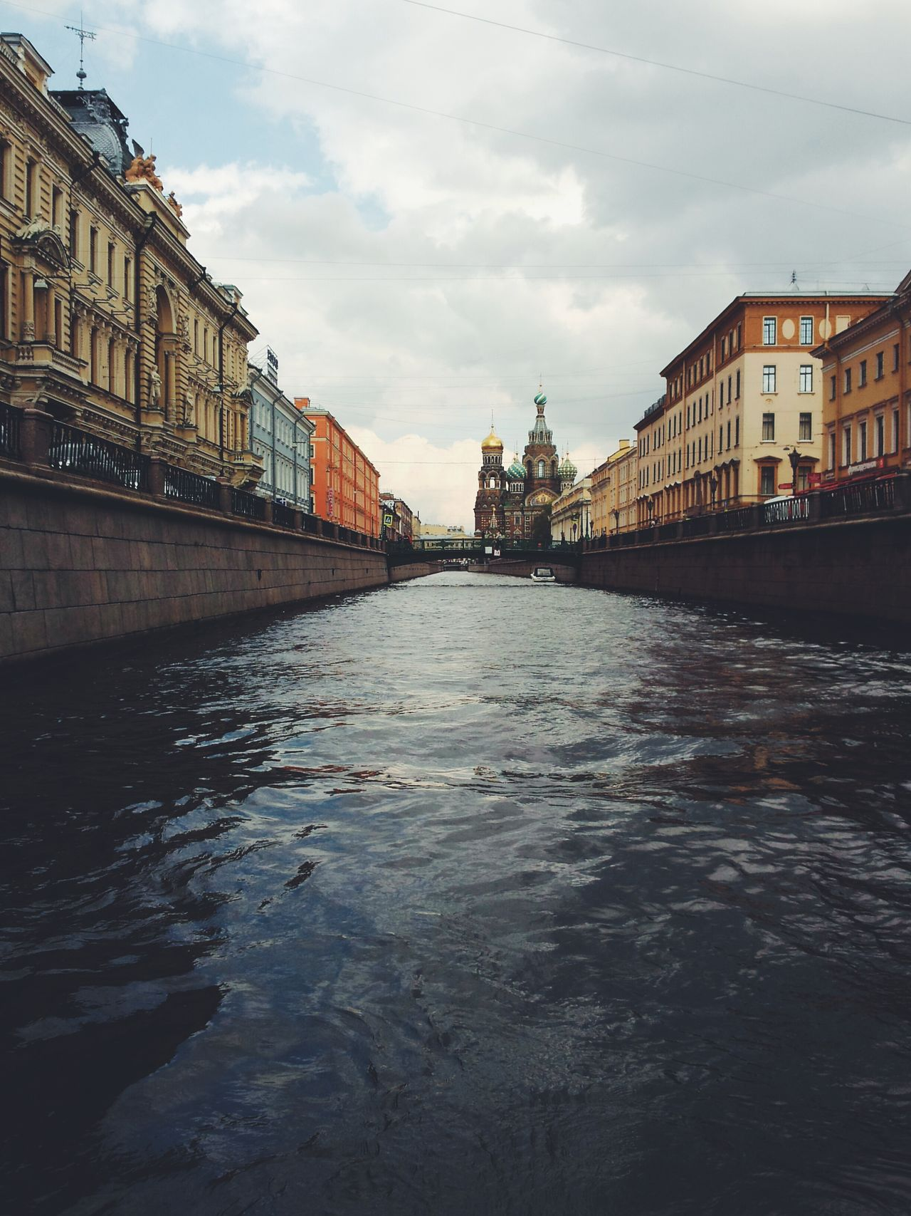 Saint Petersburg Saint-Petersburg Griboedov Channel Griboyedov Canal Spas Na Krovi Neva Neva River River Architecture Water Outdoors Cityscape Sky And Clouds No People The Great Outdoors - 2017 EyeEm Awards The Architect - 2017 EyeEm Awards
