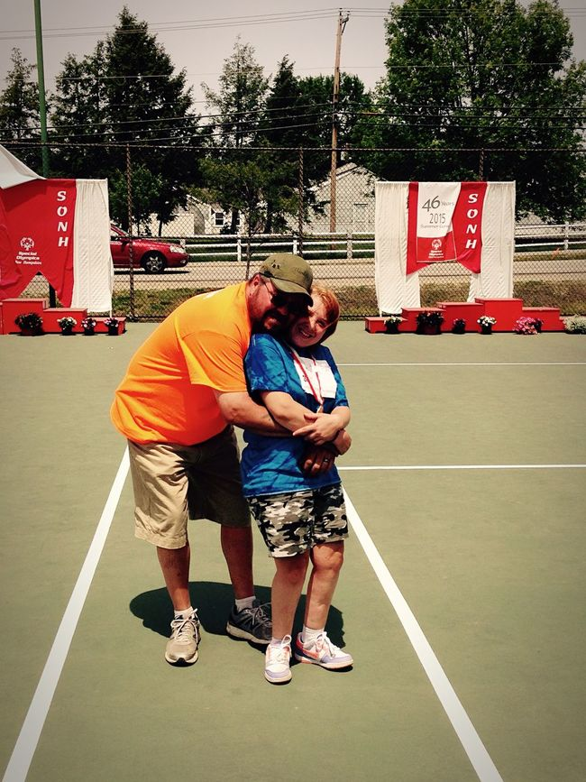 Specialolympics Father Daughter Proud Father @UNH