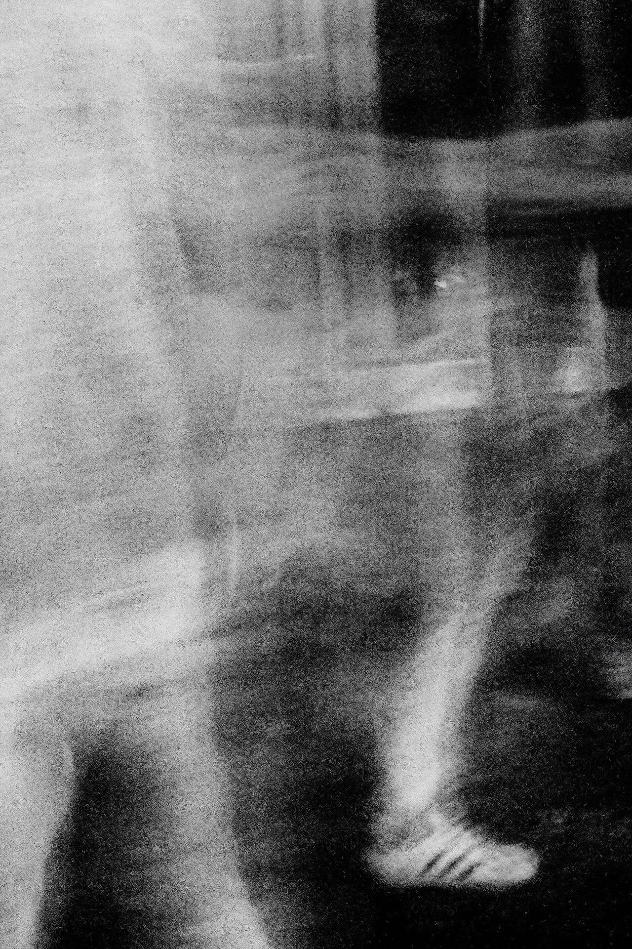 - Feet on the ground - Feet Ground Ground Level View Vanishing Point Ghost Movement Moving Slow Shutter Stripes Stripes Pattern Nightphotography Smoke Blackandwhite Monochrome Monochrome Photography Nikon Nikonphotography