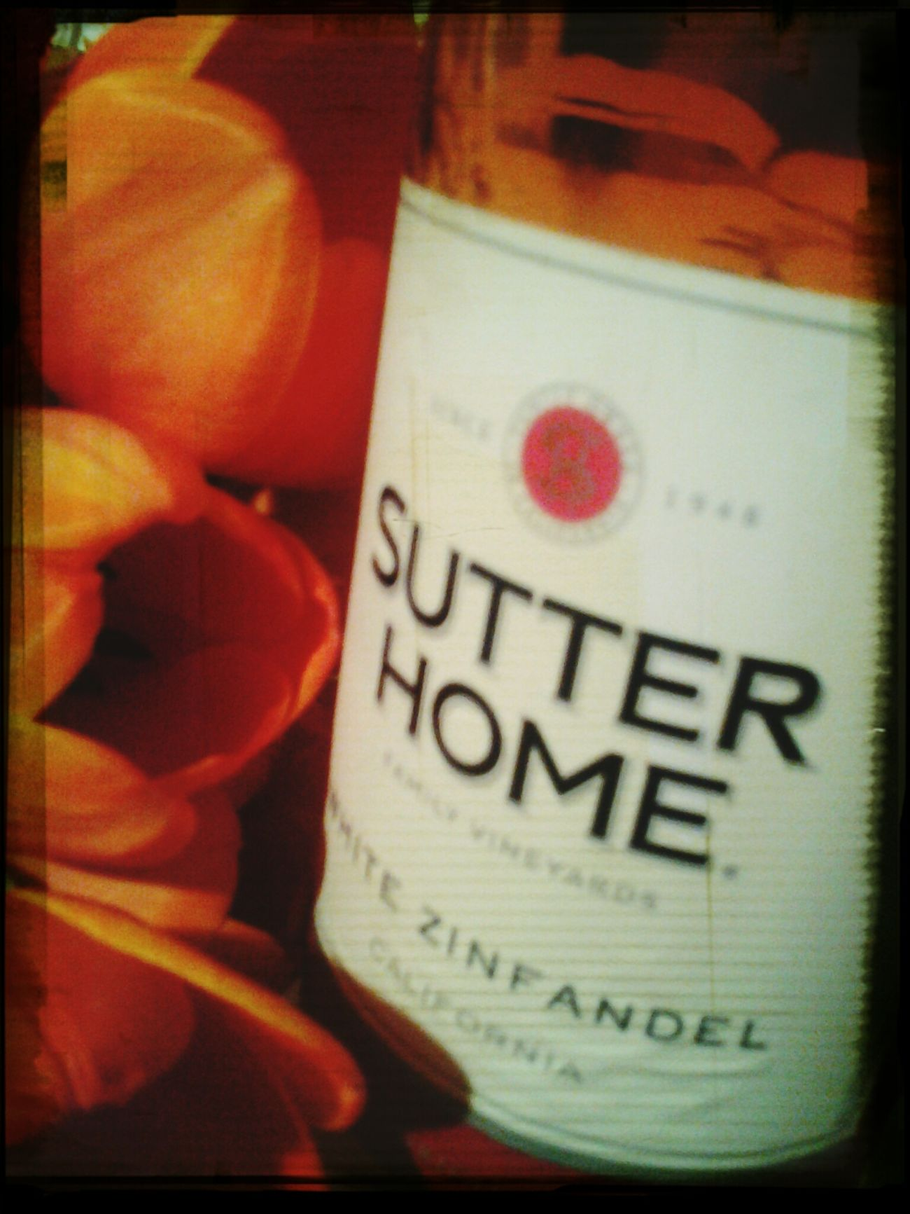 Flowers Wine Girls Night In